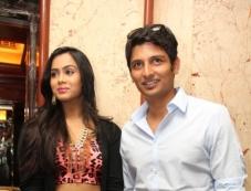 Jeeva and Thulasi Nair at Yaan Audio Launch Photos