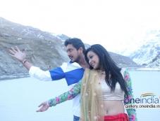 Ajay Rao and Shravya in Rose Photos