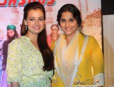 Dia Mirza and Vidya Balan at Bobby Ko Sab Malum Hai Blog Launched Photos