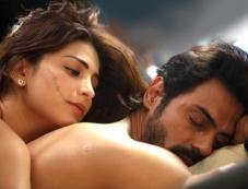 Shruti Hassan and Arjun Rampal in Gelupu Gurram Movie Photos