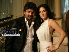 Jai and Actress Sunny Leone in Vadacurry Photos