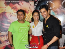 Mohit Suri, Shraddha Kapoor and Sidharth Malhotra Media Interaction For Ek Villain Photos