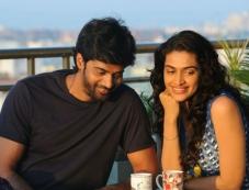 Naveen Chandra and Salony Luthra still from Sarabam Movie Photos