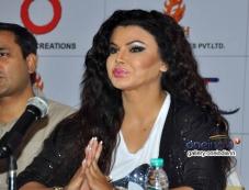 Rakhi Sawant at Jayjaykar Movie Press Meet Photos