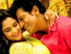 Ramya and Shivrajkumar in Kannada Movie Aryan Photos