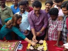 Simbu and Nayantara Celebrates Pandiraj's Birthday Photos