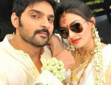 Sree Vishnu and Nikita Narayana in Nala Damayanti Movie Photos