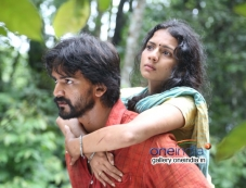 Sruthi Hariharan and Dhananjay in Kannada Movie Raate Photos