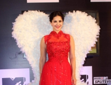 Sunny Leone at press conference of MTV Splits Villa Photos