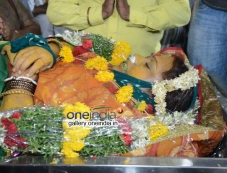 Telangana Sakuntala body at Telugu film Chamber Photos