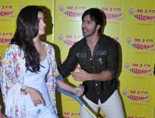 Varun Dhawan & Alia Bhaat at Radio Mirchi Photos
