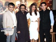 Ajit Andhare, Sanjay Leela Bhansali, Priyanka Chopra and Omung Kumar Photos