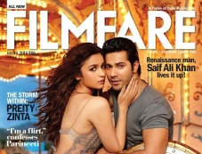 Humpty Sharma Ki Dulhania on Filmfare Coverpage Photos