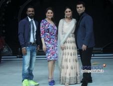 Remo Dsouza, Madhuri Dixit, Kareena Kapoor, Karan Johar Photos