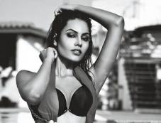 Srishti Rana In Bikini From Mandate Magazine Photos