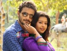 Jeeva and Soujanya in Santhoshakke Photos
