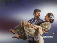 Vishwajith Harish and Megha Shenoy in Yarige Idly Photos