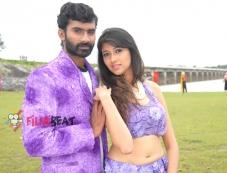Yogesh and Akila Kishor in Kaala Bhairava Photos