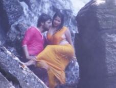 Rakesh Adiga and Shubha Poonja in Kotigond Love Story Photos