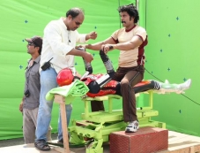 I Movie Making Stills Photos