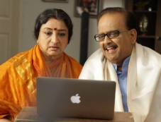 SP Balasubramaniam and Lakshmi Photos