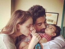 Rannvijay Singh with his Baby Photos