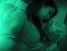 Mallika Sherawat & Om Puri Romantic Scene Photos