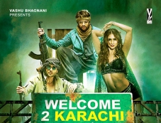 Welcome To Karachi Poster Photos