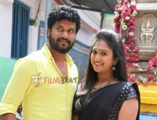 Arun & Roopika in Haadi Beedi Love Story Photos