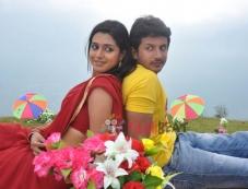Praju Poovaiah & Naga Kiran in Adarsha Photos