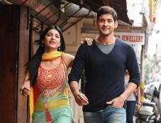 Shruti Haasan and Mahesh Babu Photos