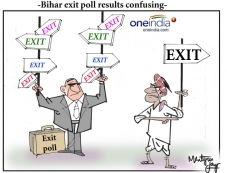 Bihar exit poll results confusing Photos