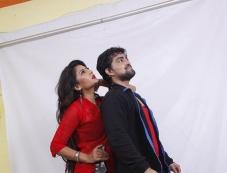 Neha Saxena & Tejas in One Time Photos
