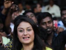 Sonia Agarwal At Celebrity Cricket League 2016 Photos