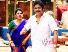 Ramya Krishnan and Nagarjuna Photos