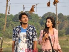 Arav Surya & Teena Ponnappa in Sri Chakram Photos