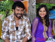 Neha Patil & Supreeth in Hulidurga Photos
