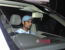 Randeep Hooda Snapped Outside Salman Khan House Photos