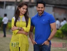 Ruhani Sharma and Bharath Photos