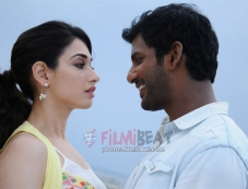 Kaththi Sandai Photos