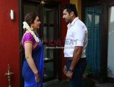 Jayam Ravi and Hansika Motwani Photos