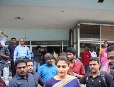 Nayantara Visits Theater For Aramm Movie Promotion Photos