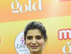 Samantha Akkineni At Launch Of Maaza Gold In Bangalore Photos