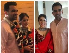 Zaheer Khan Ties The Knot With Sagarika Ghatge Photos