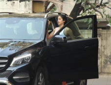Jhanvi Kapoor Spotted At Gym Photos