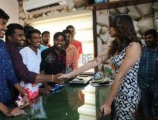 Lavanya Tripathi Birthday Celebrations With Fans Photos