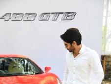 Naga Chaitanya at Hyderabad Supercar Show 2017 Photos