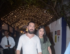 Shruti Hassan With Boyfriend Spotted At Party Hunters Bandra Photos