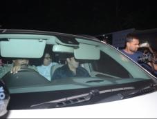 Salman Khan Pay Last Respect Sridevi at Her Residence Photos