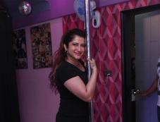 Smilie Suri Pole Dance Photoshoot Photos
